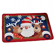 Santa & Friends Washable Mat