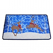 Dancing Reindeer Washable Mat