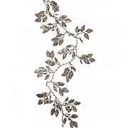 180cm Warm White LED Silver Honeysuckle Garland