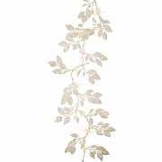 180cm Warm White LED White Honeysuckle Garland