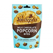 Joe & Seph's Milk Chocolate & Salted Caramel Popcorn Bites 63g
