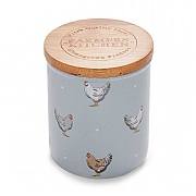 Cooksmart Farmers Kitchen Ceramic Sugar Canister - Blue