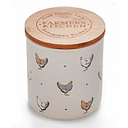 Cooksmart Farmers Kitchen Ceramic Biscuit Canister