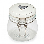 Cooksmart Farmers Kitchen 0.5L Glass Storage Jar