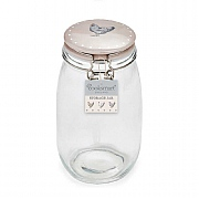 Cooksmart Farmers Kitchen 1.5L Glass Storage Jar