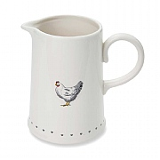 Cooksmart Farmers Kitchen Ceramic Utensil Jug