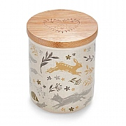 Cooksmart Woodland Ceramic Tea Canister