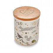 Cooksmart Woodland Ceramic Coffee Canister