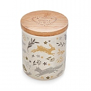 Cooksmart Woodland Ceramic Sugar Canister