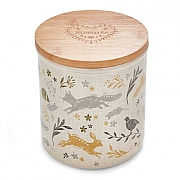 Cooksmart Woodland Biscuit Canister