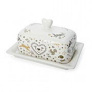 Cooksmart Woodland Covered Butter Dish