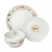 Cooksmart Woodland 12 Piece Dinner Set