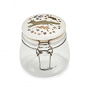 Cooksmart Woodland 0.5L Glass Storage Jar