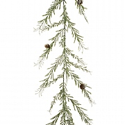 Iced Angel Pine Garland 180cm
