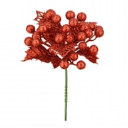 Red Christmas Berry Pick 17cm
