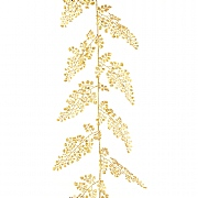 Gold Sparkle Maidenhair Garland 180cm