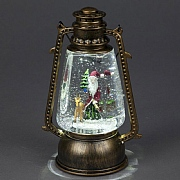 Santa LED Water Filled Miners Lamp