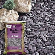 Kelkay Plum Slate 40mm Large Bag