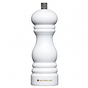 MasterClass Salt or Pepper Mill 17cm - White