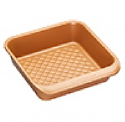MasterClass Smart Ceramic Heavy-Duty Stackable Square Baking Tin - 24 x 22cm