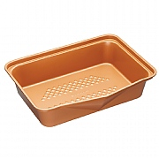 MasterClass Smart Ceramic Heavy-Duty Stackable Large Roasting Pan - 42.5 x 31.5 cm