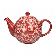 London Pottery Splash Globe 2 Cup Teapot - Red