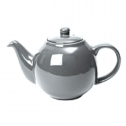 London Pottery Globe 2 Cup Teapot - Silver Finish