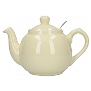 London Pottery Farmhouse 2 Cup Teapot - Ivory