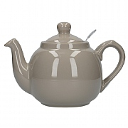 London Pottery Farmhouse 2 Cup Teapot - Grey