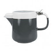 La Cafetiere Barcelona 420ml Teapot - Cool Grey