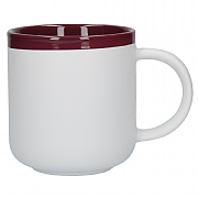 La Cafetiere Barcelona 480ml Latte Mug - Plum