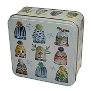 Grandma Wild's Christmas Hats Biscuits in Embossed Tin 160g