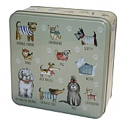 Grandma Wild's Embossed Dogs in Jumpers Biscuit Tin 160g