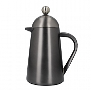 La Cafetiere Edited Double Walled 3 Cup Thermique - Gun Metal Grey