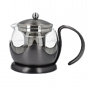 La Cafetiere Edited 2 Cup Le Teapot - Gun Metal Grey