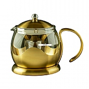 La Cafetiere Edited 2 Cup Le Teapot - Brushed Gold