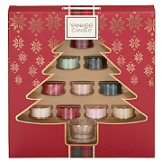 Yankee Candle Christmas Collection Tea Lights Holder Gift Set