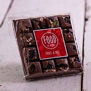Food at Webbs Square Fruit & Nut Chocolate Bar 100g