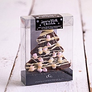 Calico Cottage Luxury Milk Chocolate Rocky Road Christmas Tree 65g