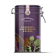 Cartwright & Butler Demerara Shortbread Rounds Tin 200g