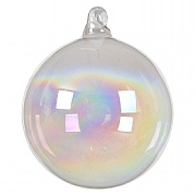 Decoris Iris Bauble 8cm