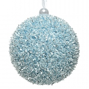 Decoris Arctic Blue Foam Bauble 8cm
