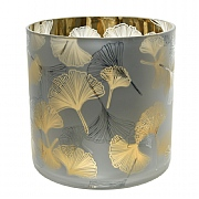 Decoris Ginko Leaf  T-Lite Holder