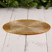 Gold Beaded Placemat