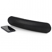 Intempo Curved Bluetooth Metallic Speaker - Black