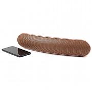 Intempo Curved Bluetooth Metallic Speaker - Rose Gold