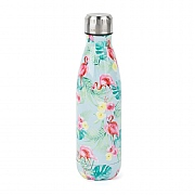 Cambridge Flamingo Jungle Stainless Steel Thermal Insulated Flask 500ml