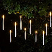 10 Floating LED Magic Candles String Lights