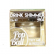 Pop-A-Ball Gold Shimmer For Prosecco