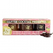 Pop-A-Ball Glitter Cocktail Preserves Gift Set